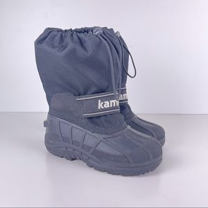 Kamik Stormy Cold Weather Black Boots